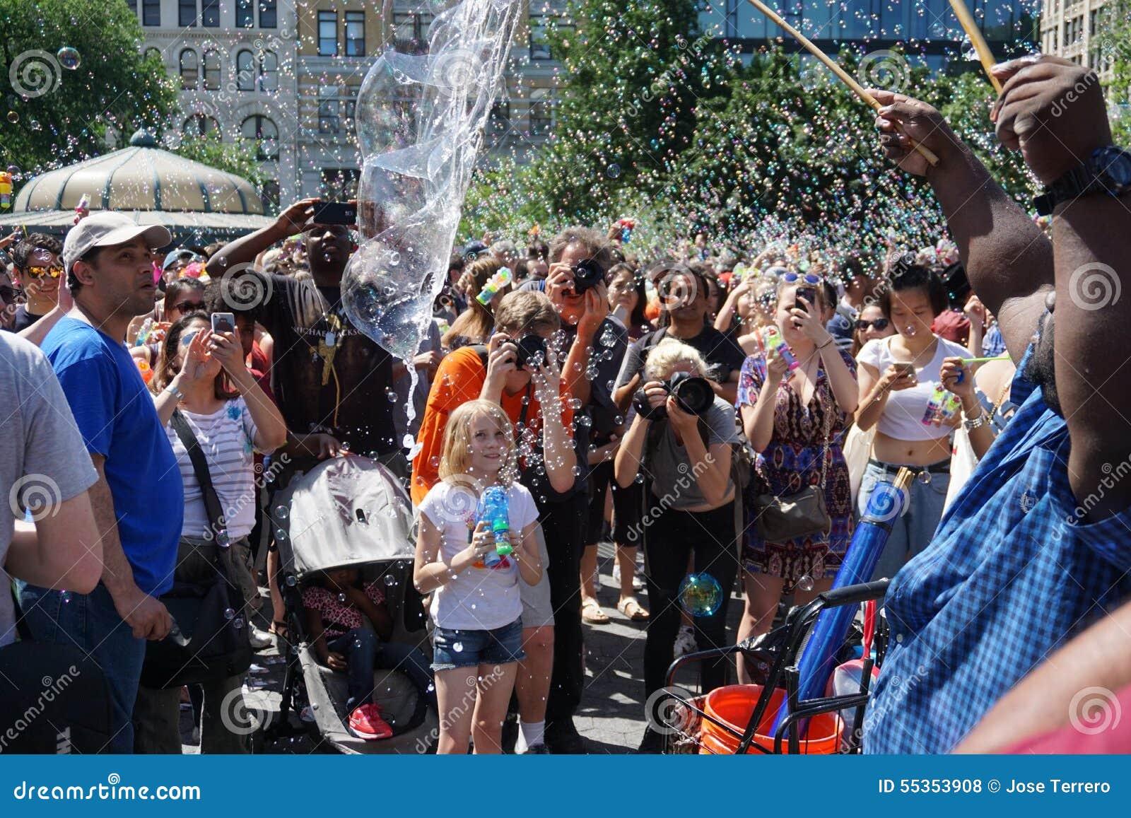 Parte 3 50 di battaglia NYC 2015 della bolla