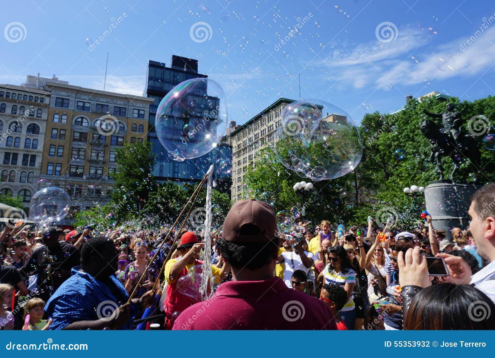 Parte 3 32 di battaglia NYC 2015 della bolla