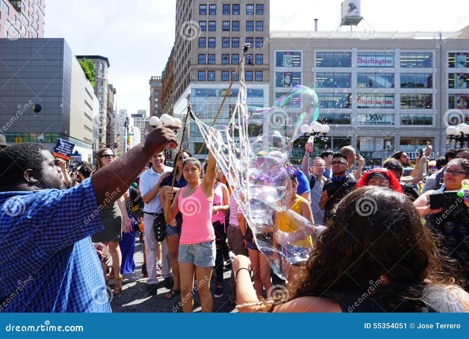 Parte 2 55 di battaglia NYC 2015 della bolla