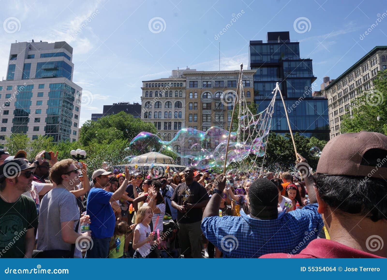 Parte 2 44 di battaglia NYC 2015 della bolla