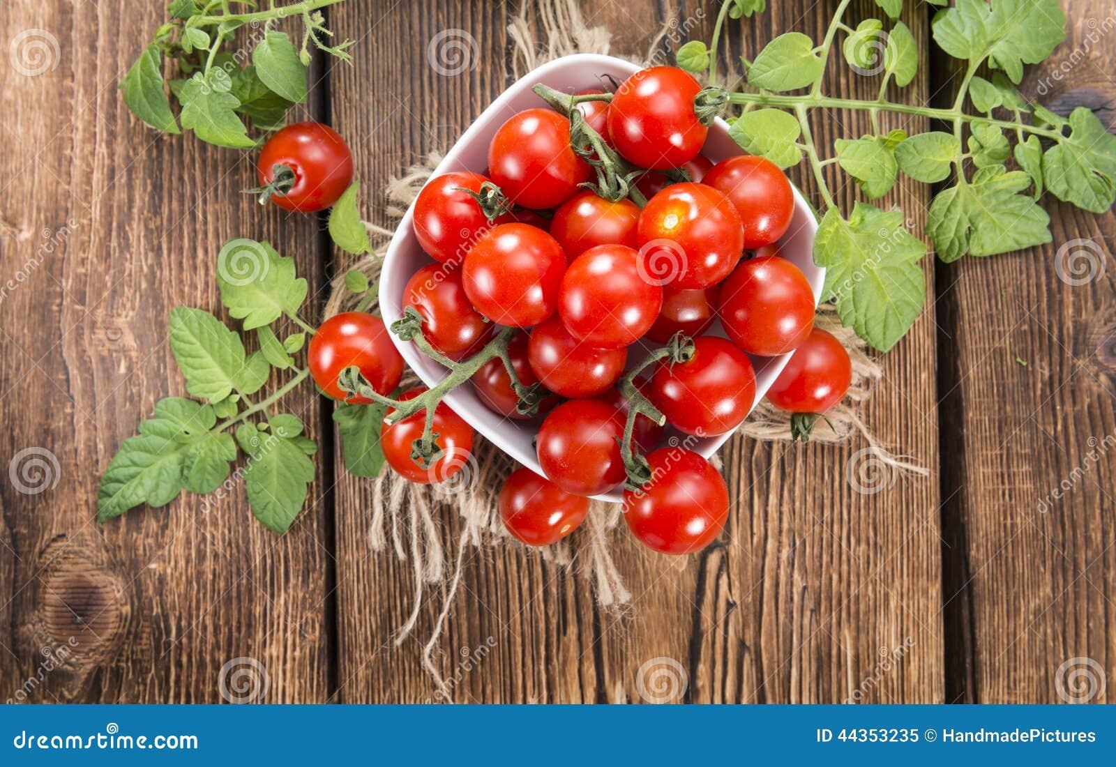 Parte di Cherry Tomatoes fresco