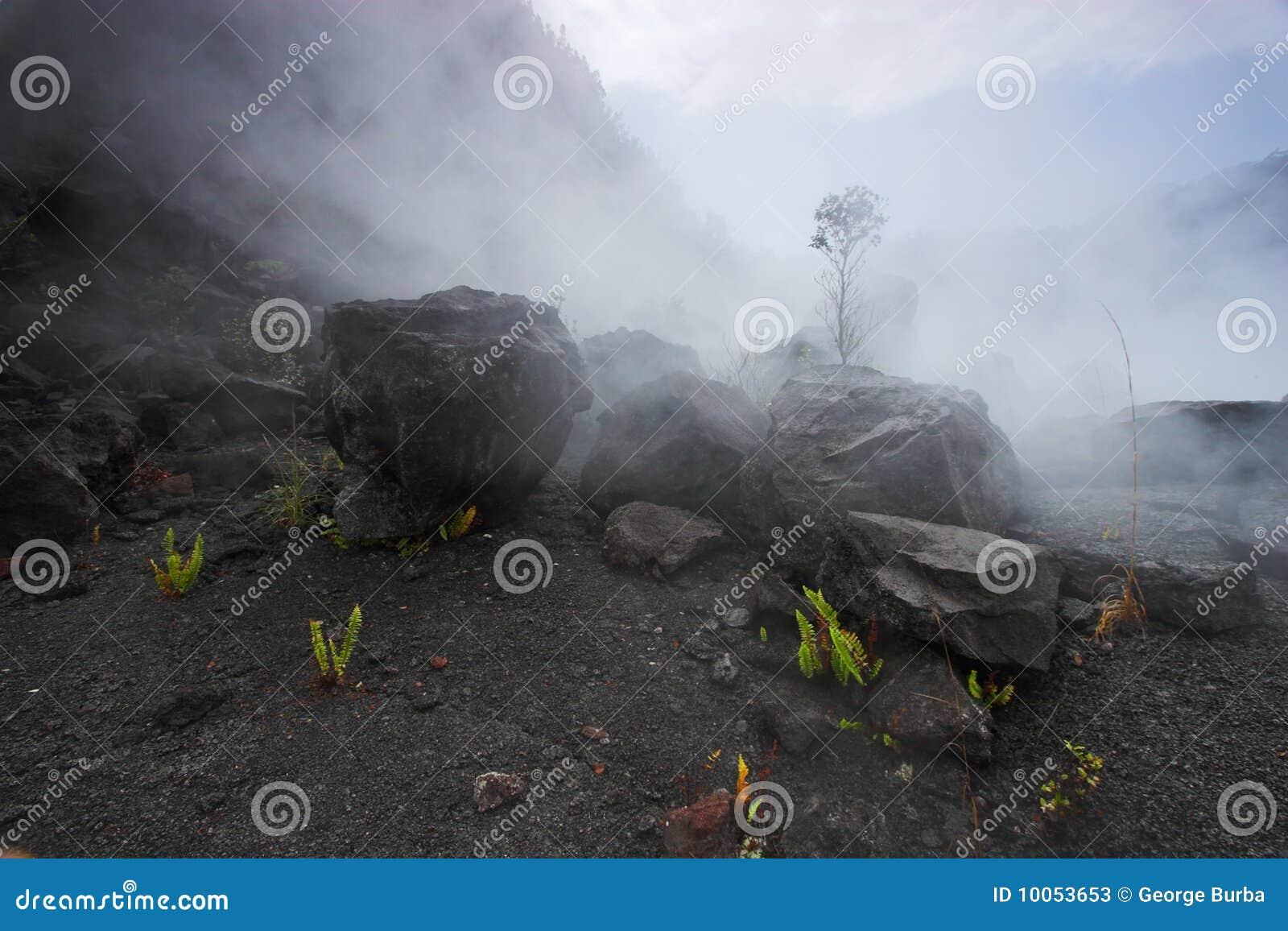 Parte inferior da cratera
