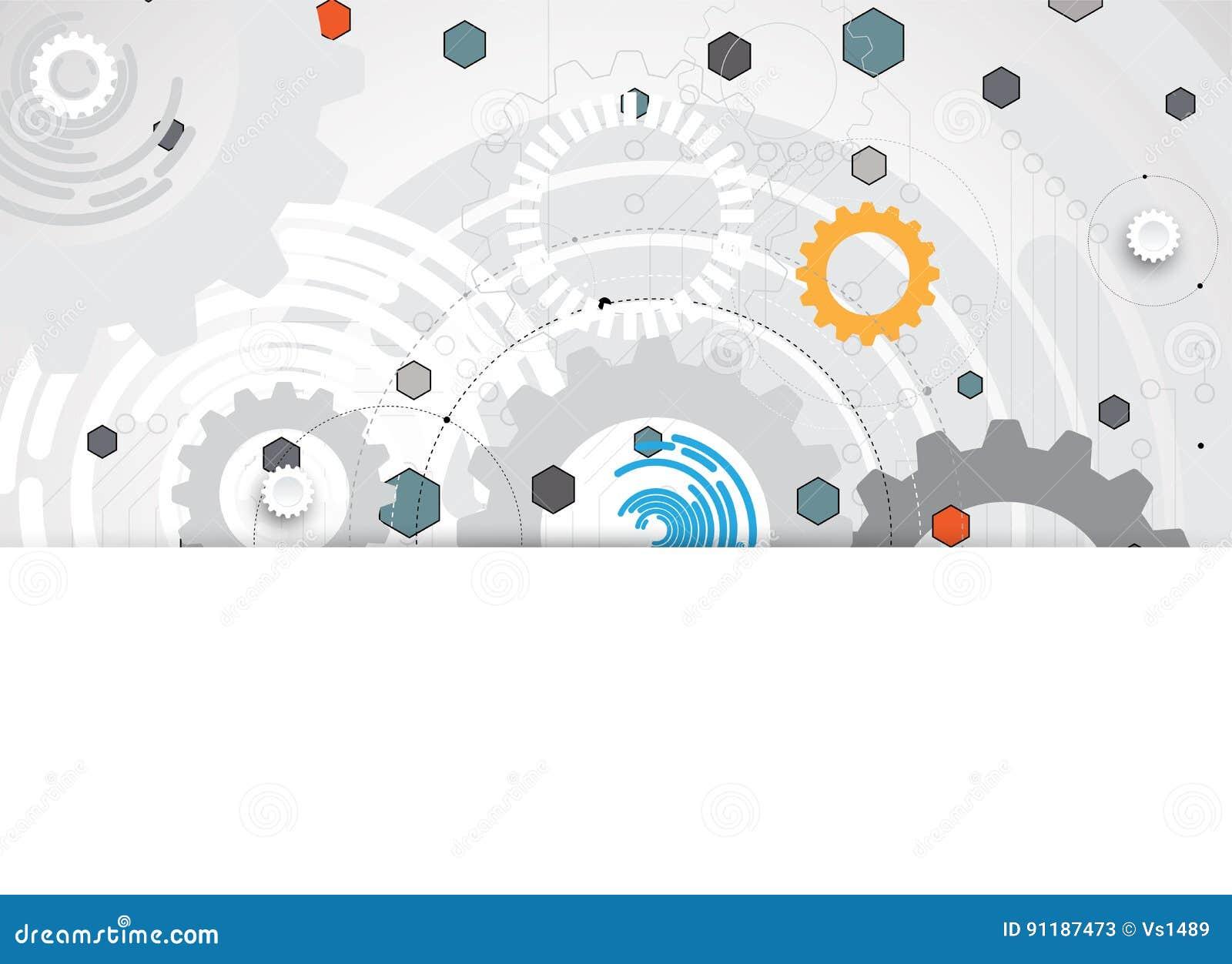 Parte posterior futurista abstracta de la tecnología de Internet del ordenador del circuito