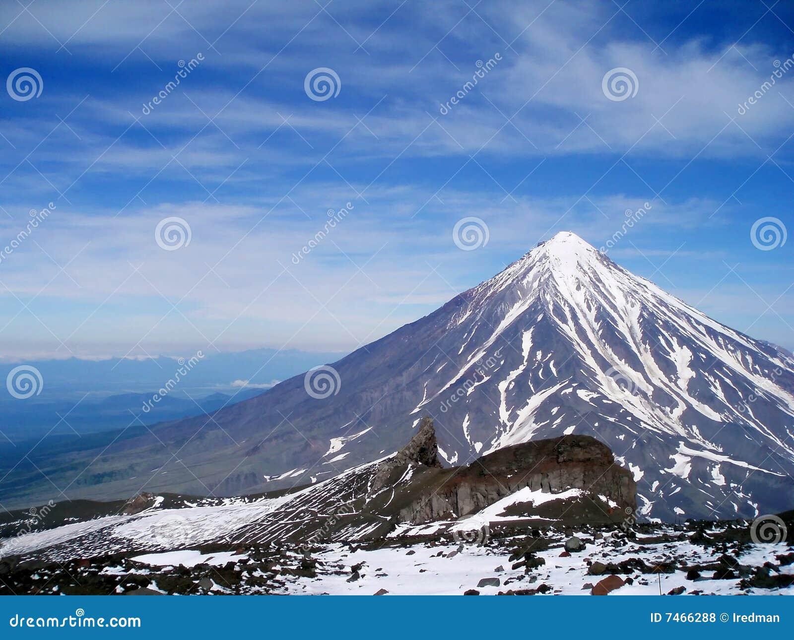 Parte superior da montanha