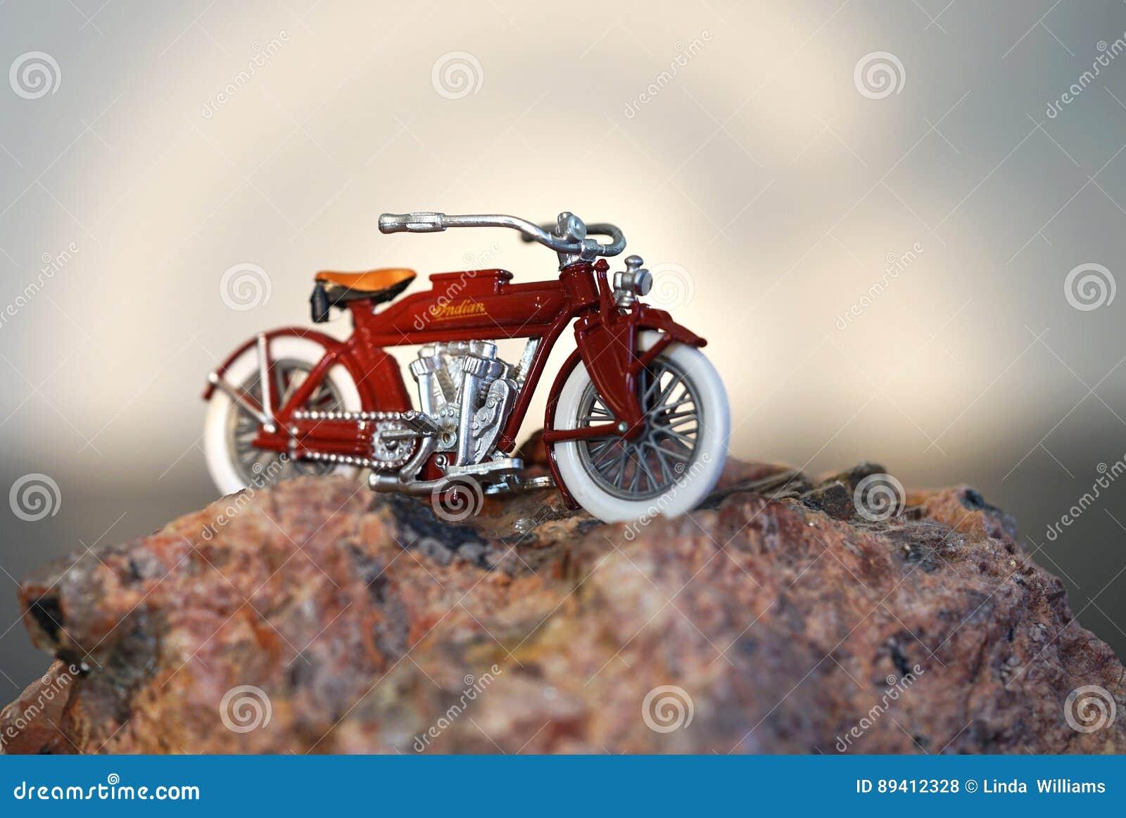 Parte superior do monte - motocicleta indiana