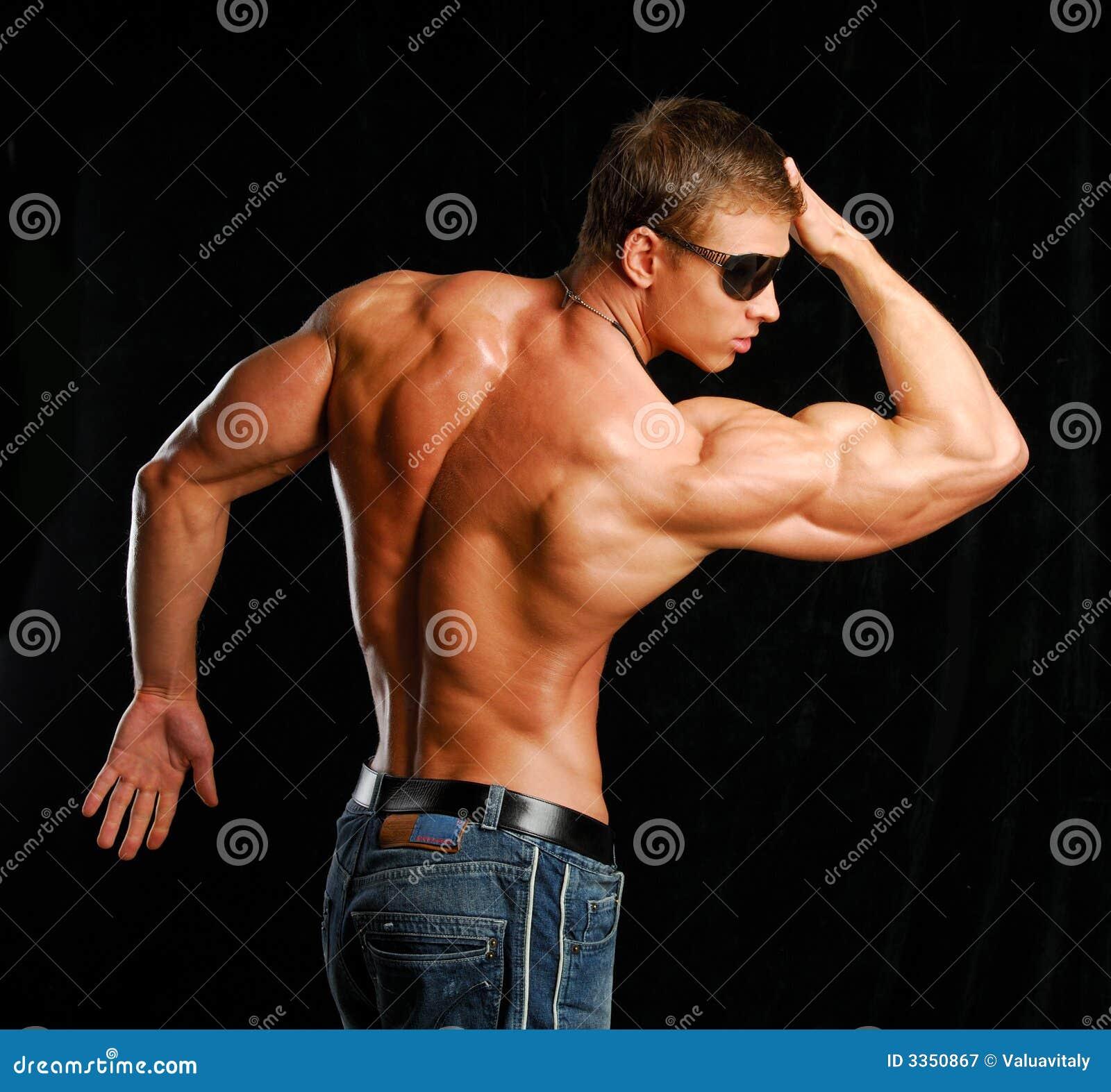 Parte traseira do macho
