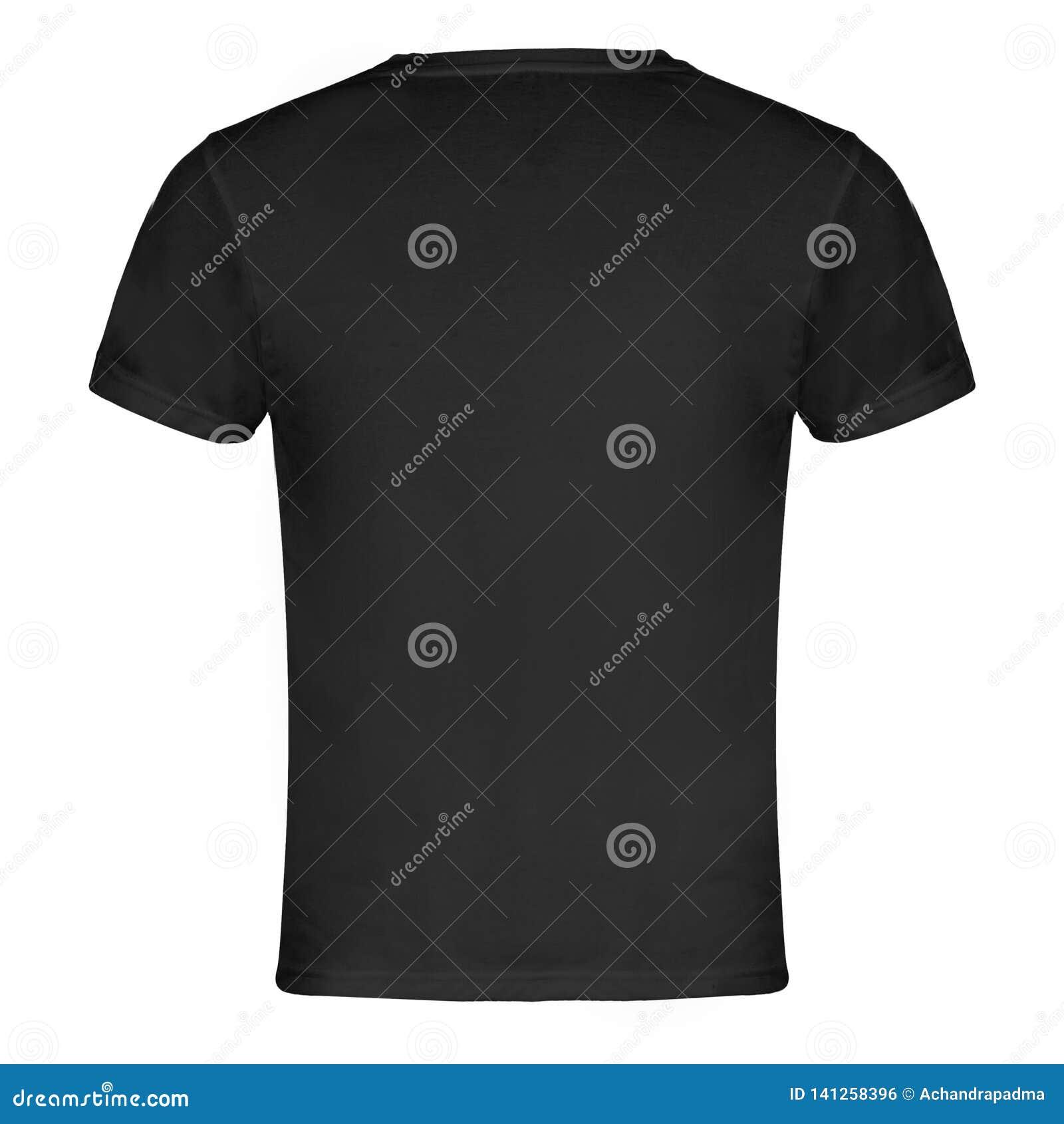 Parte traseira do t-shirt de Gray Blank