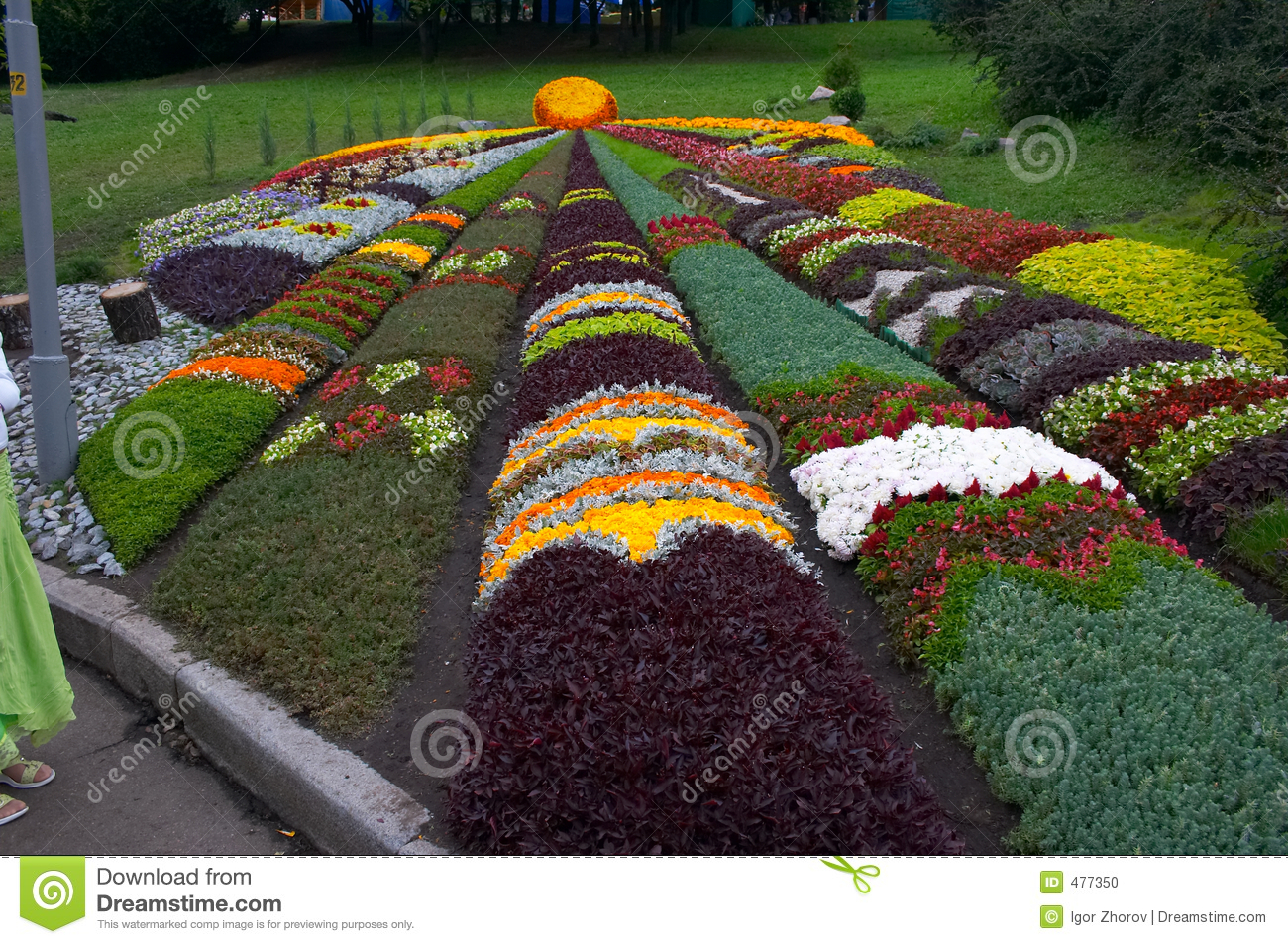Parterre artistique d coratif photo stock image 477350 for Parterre 3d