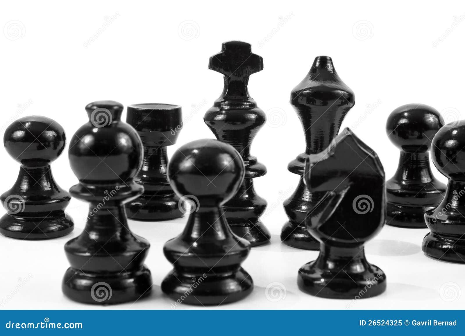 Partes de xadrez pretas