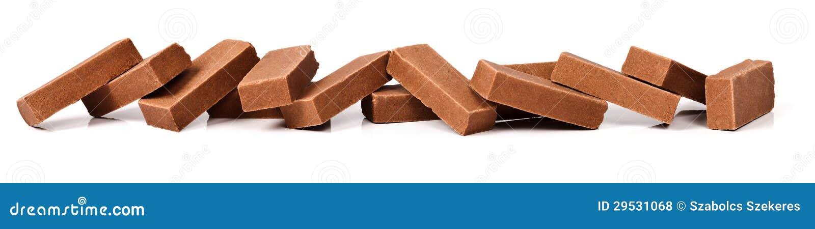 Partes do chocolate