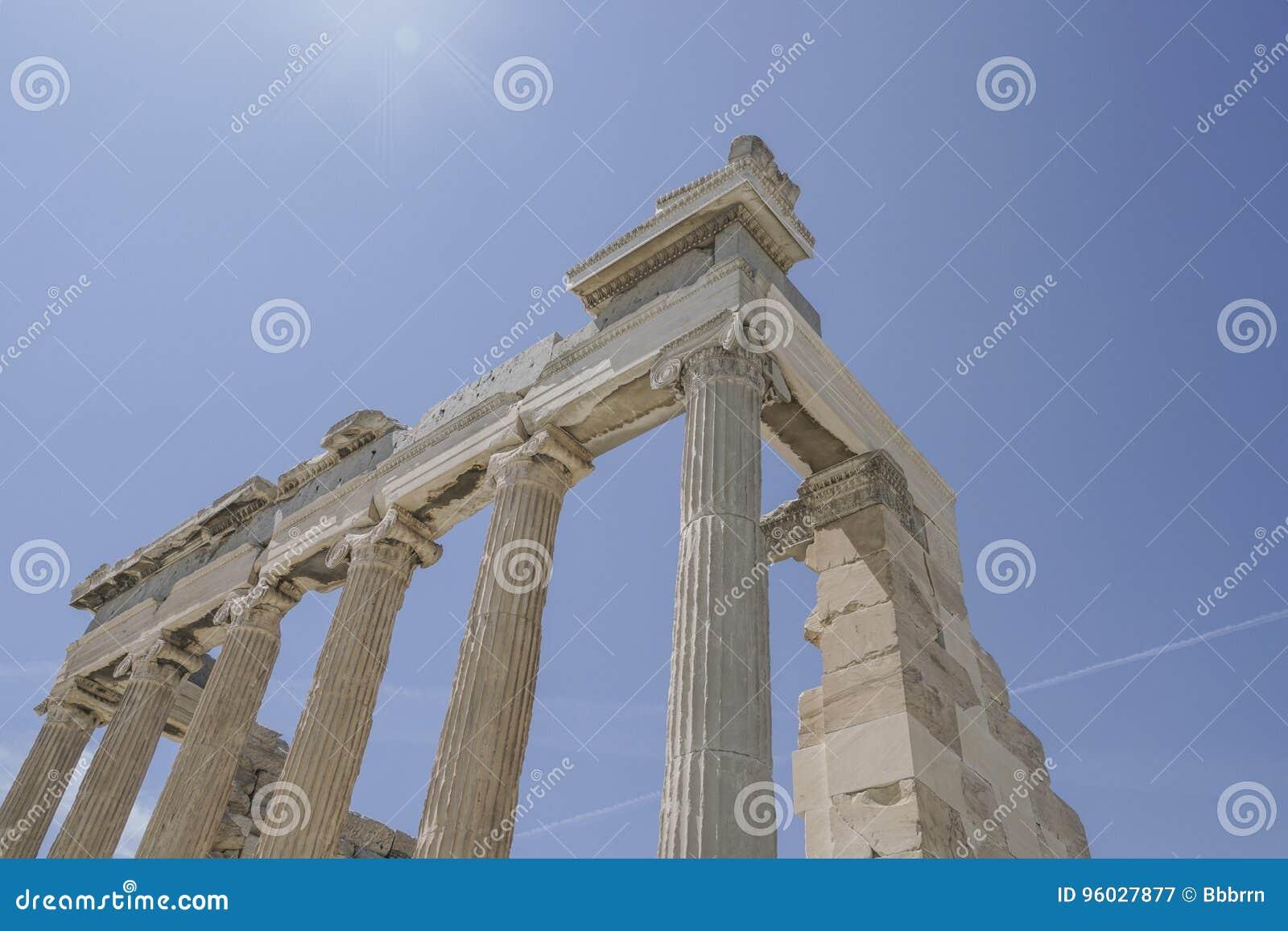 Parthenon świątynia na Ateńskim akropolu w Ateny, Grecja