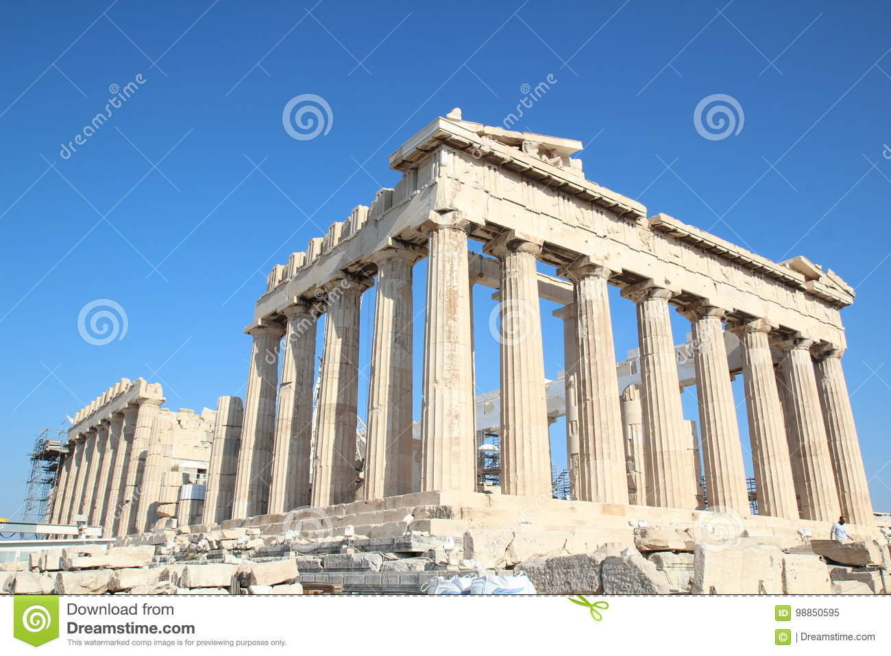 Parthenon, ναός Αθηνάς, Ελλάδα, Αθήνα