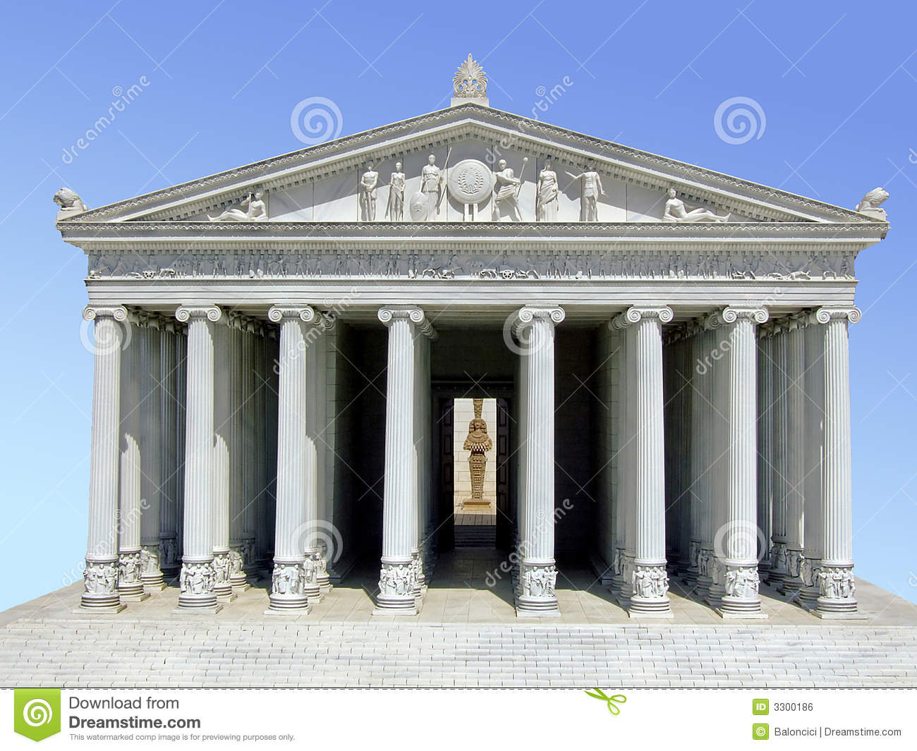 Parthenon Royalty Free Stock Image Image 3300186