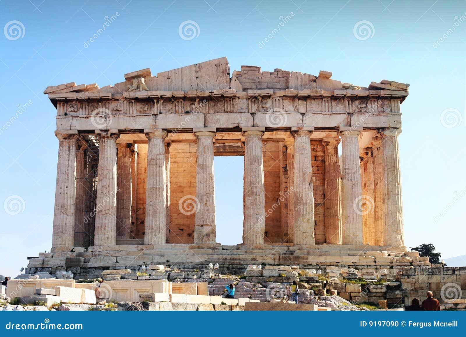 Parthenon - Akropolis, Athene