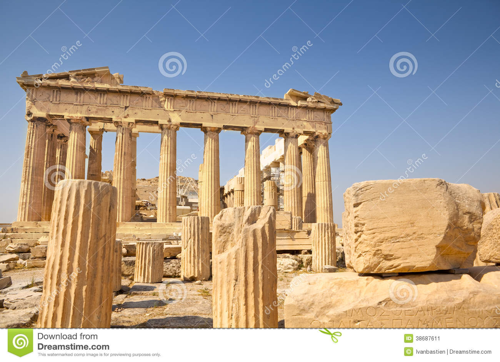 Parthenon in Athen, Griechenland