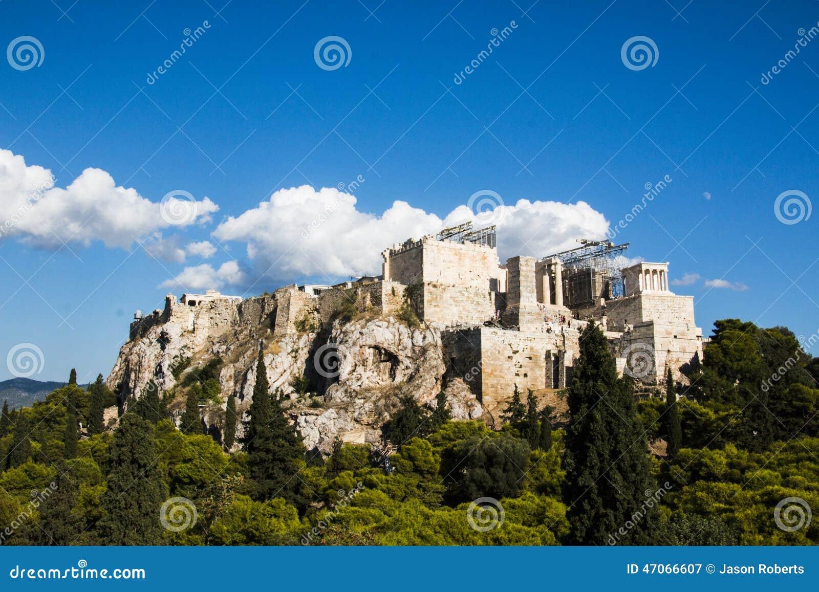 The Parthenon in Athens Greece