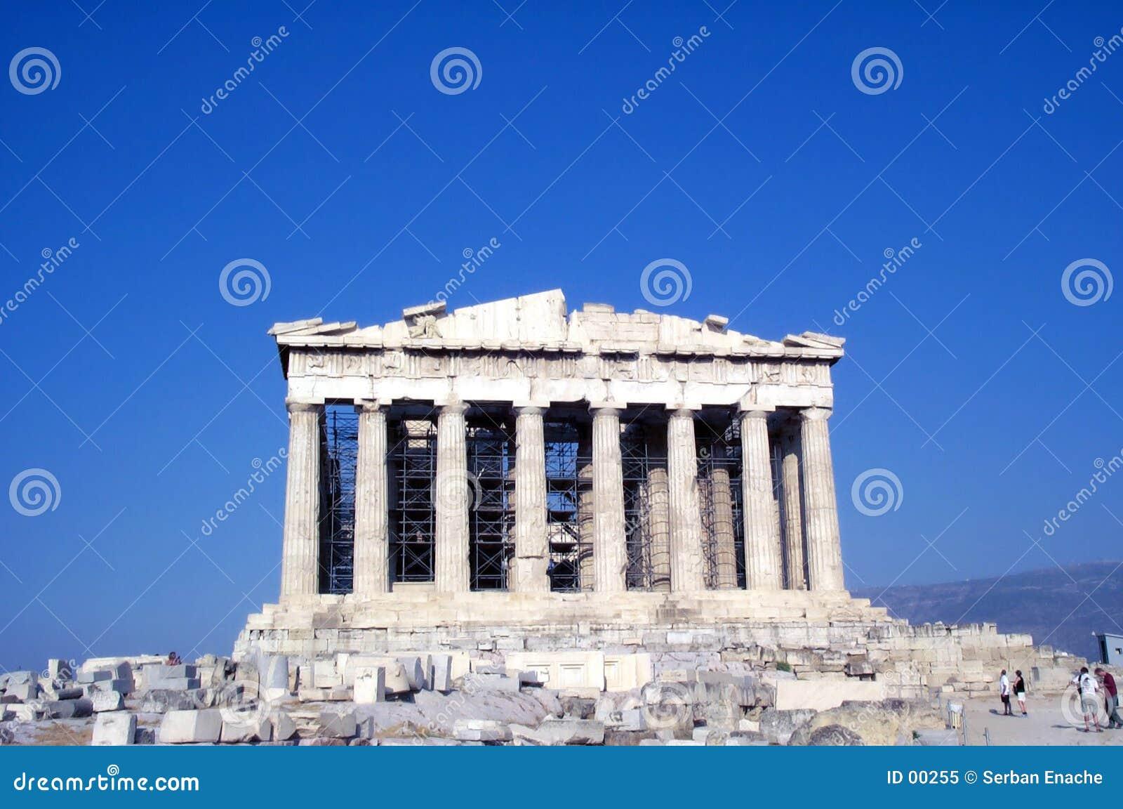 Parthenon czołowa widok