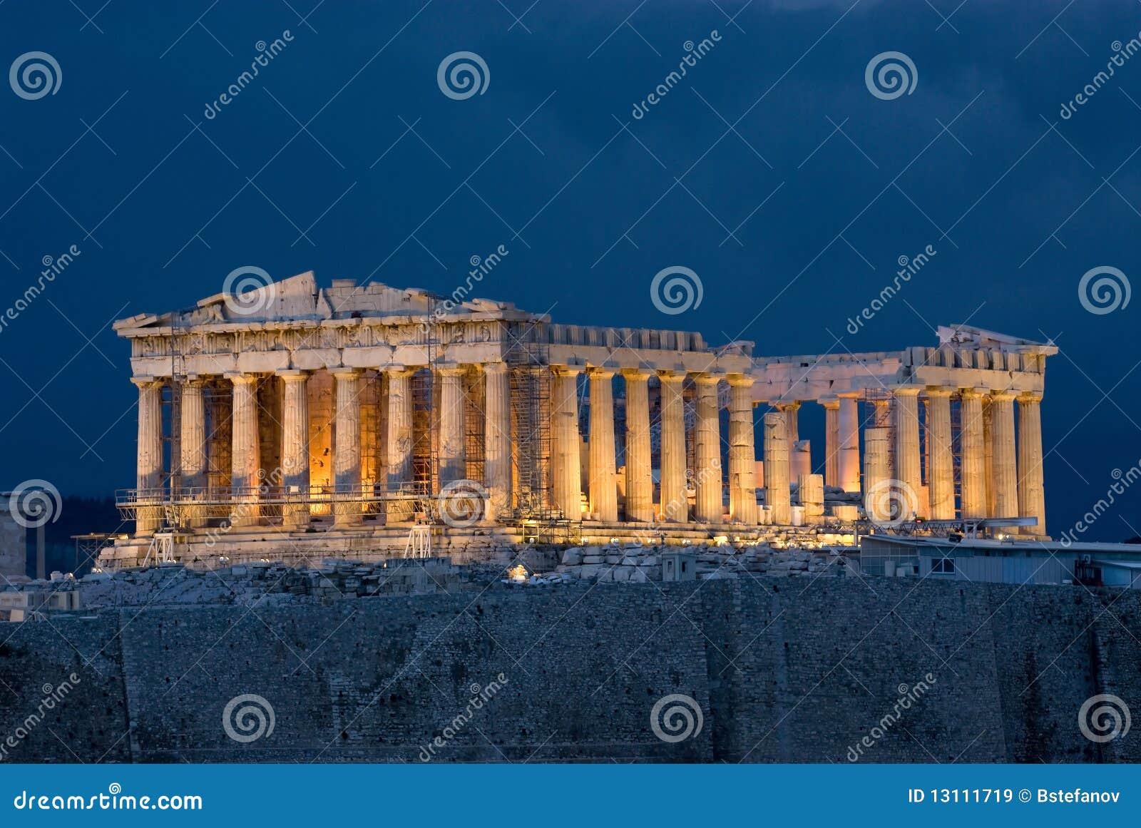 Parthenon dell acropoli di Atene