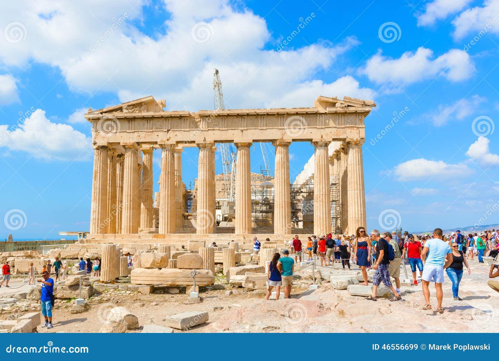 Partheon In Acropolis, Athens, Greece. Editorial Stock Image ...