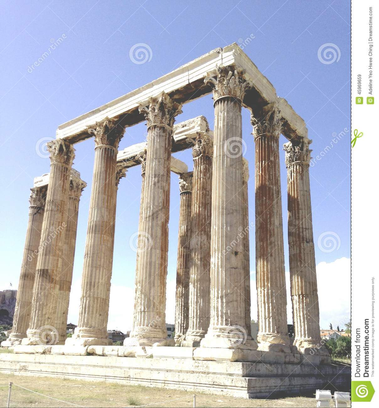 Partheon In Ruins Stock Photo - Image: 45969659