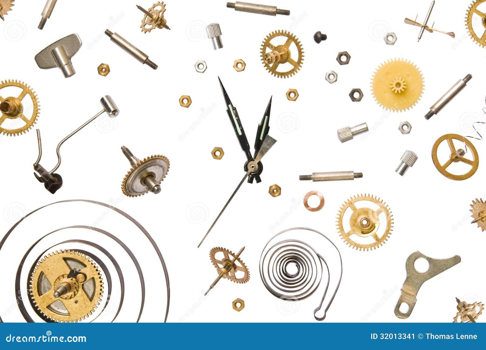 parti dell orologio
