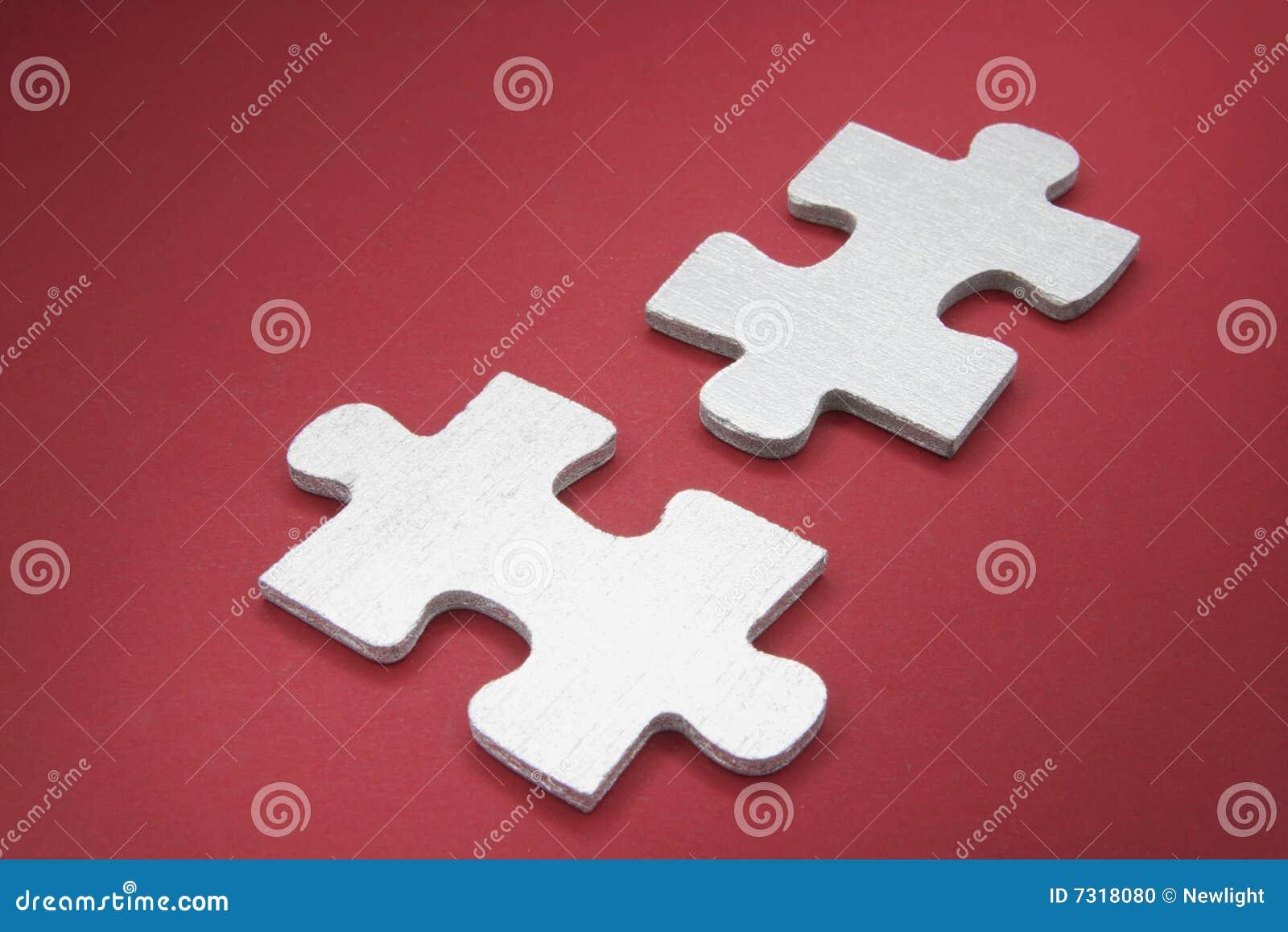 Parti di puzzle del puzzle
