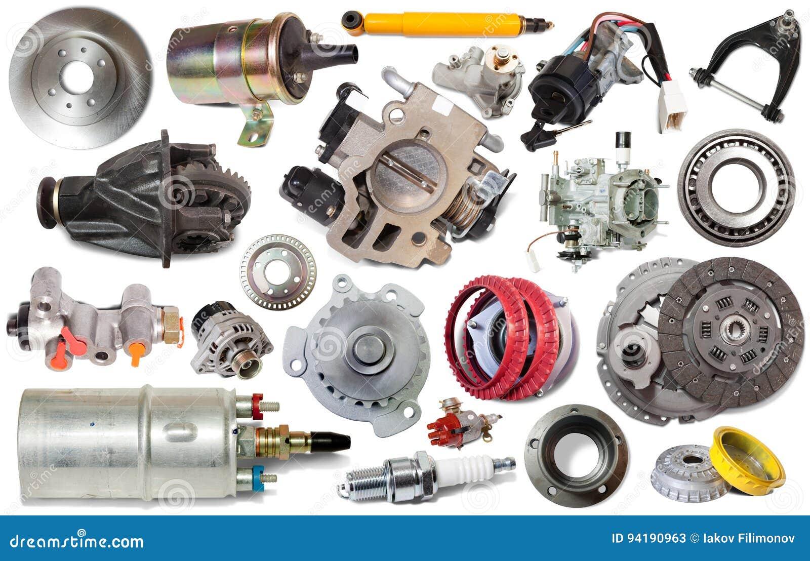 Parti Di Riparazione Dell Automobile Isolate Immagine Stock Immagine Di Background Manutenzione 94190963