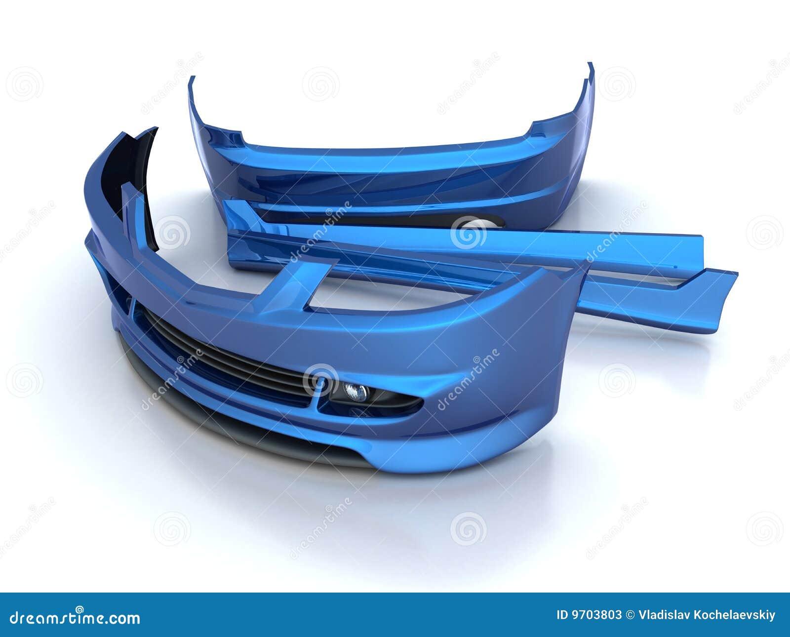 Parti di riparazione di sport (blu)