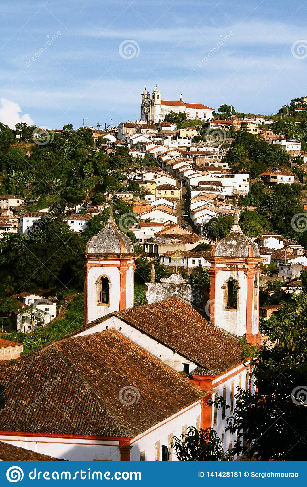 From church to church in Ouro Preto