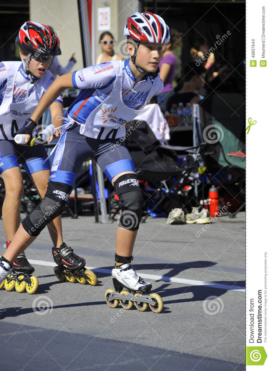 Roller skating montreal - Roller Montreal Editorial Stock Image