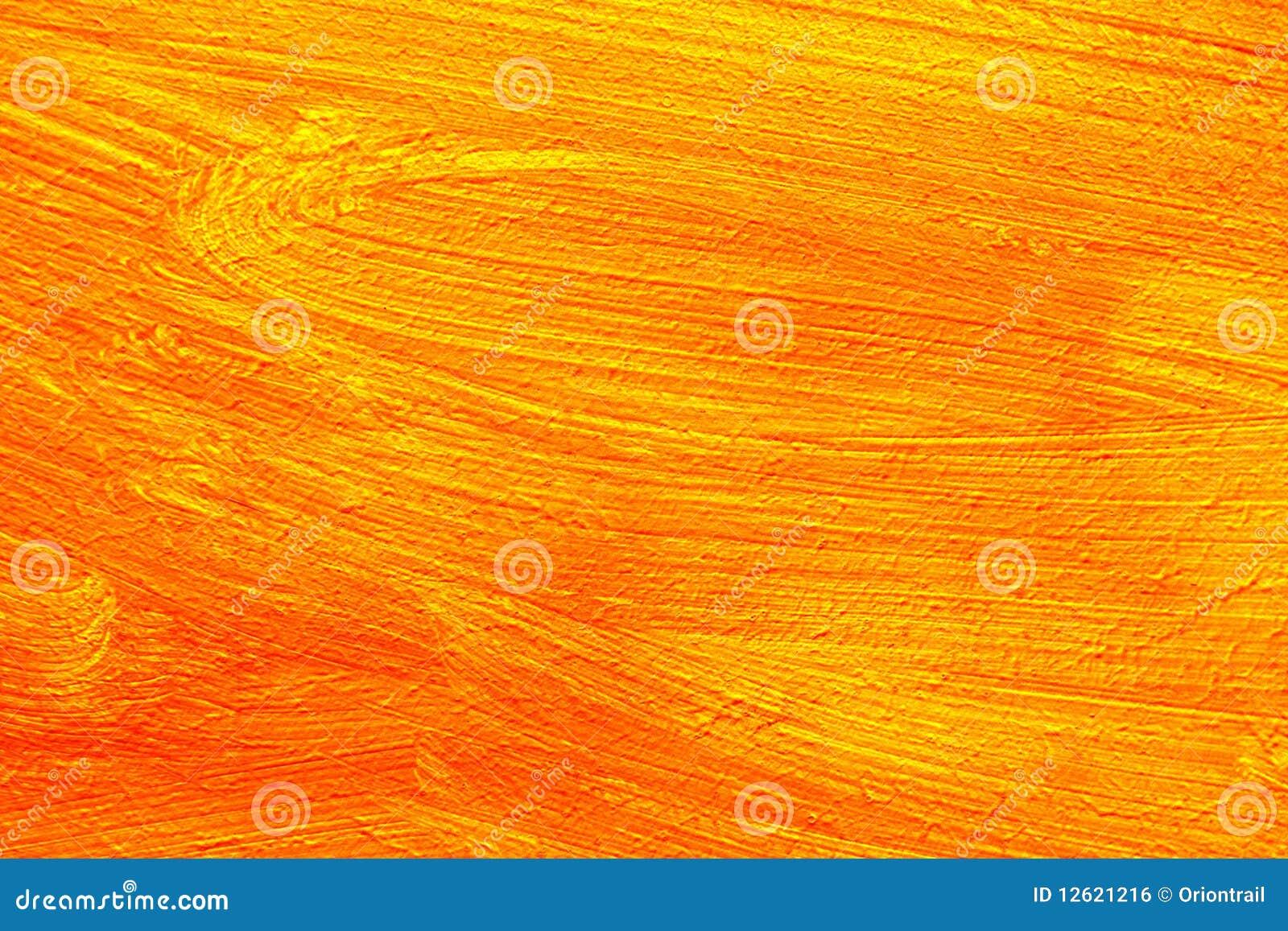 Particolare arancione della pittura immagine stock libera - Pittura particolare ...