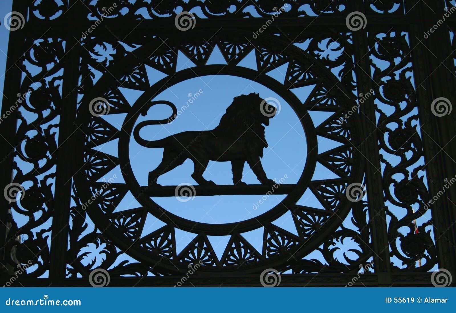 Particolare del leone