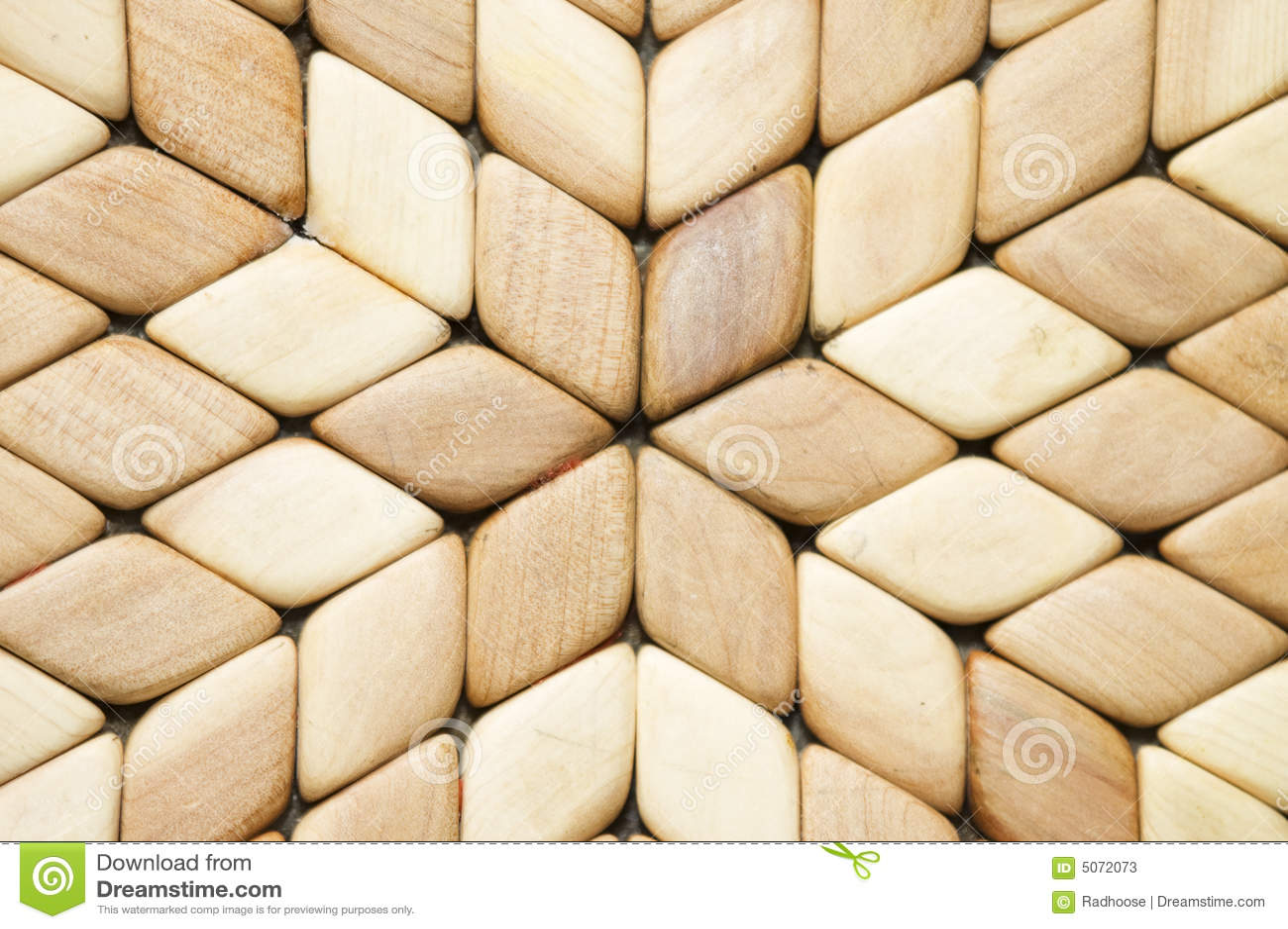 Particolare Del Mosaico Di Legno Immagine Stock - Immagine di wooden ...