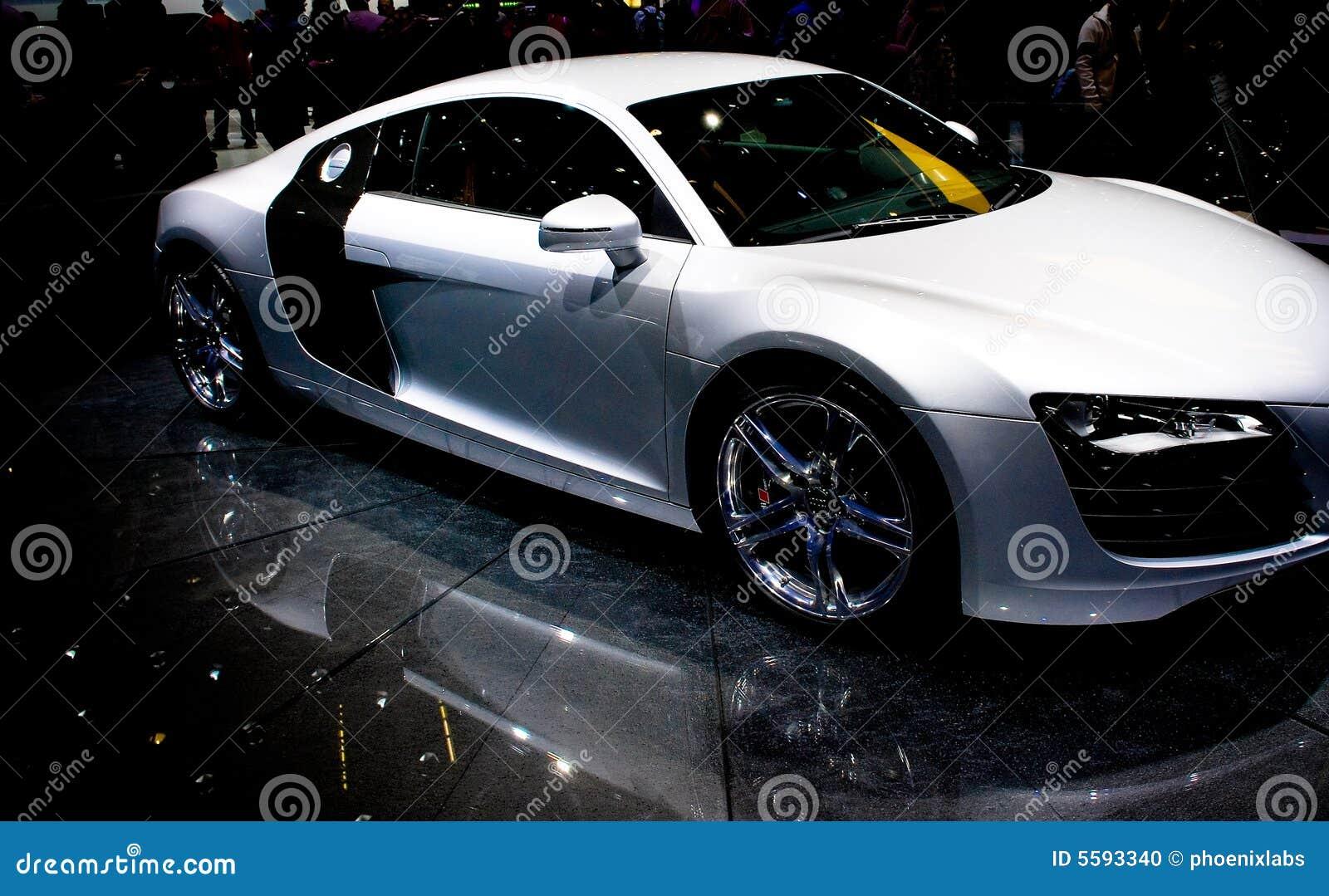Particolare dell automobile sportiva