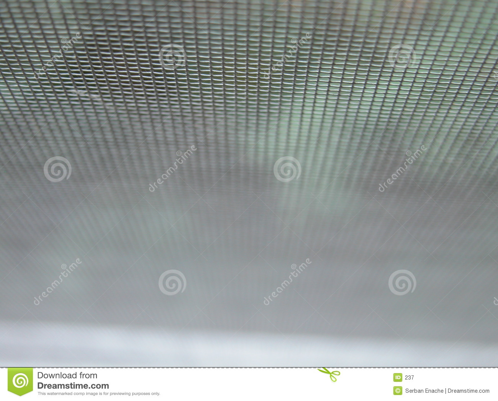 Particolare di una rete metallica