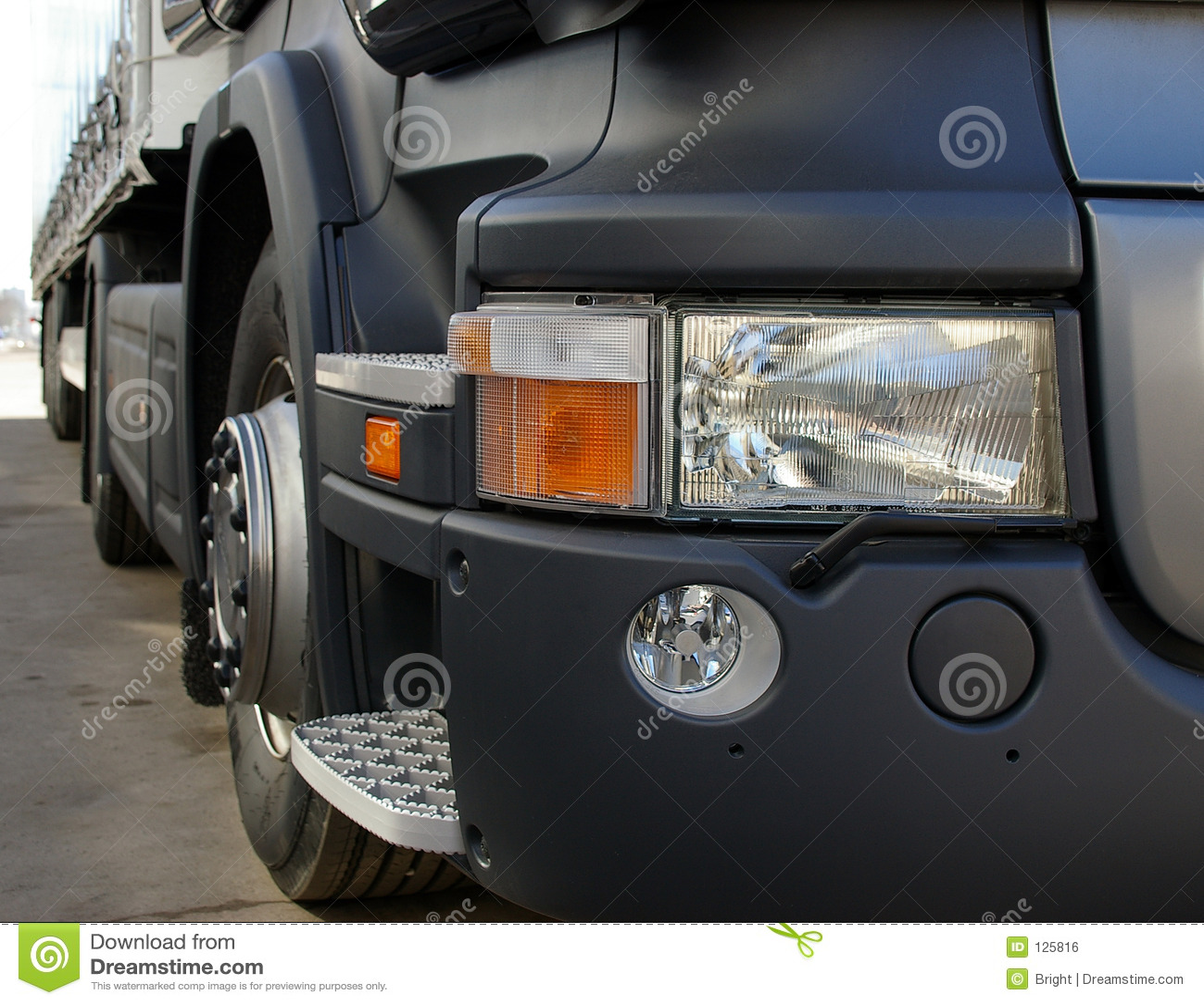 Particolari del camion
