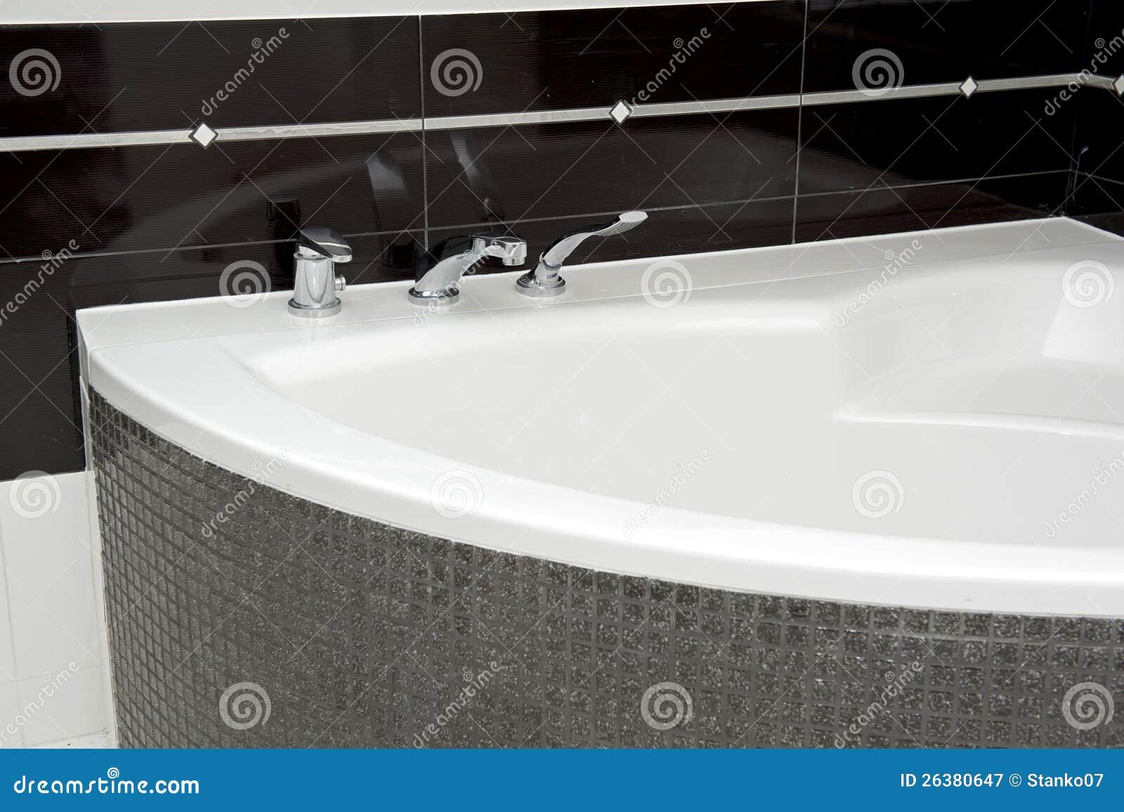 Particolari della vasca da bagno fotografia stock libera da ...