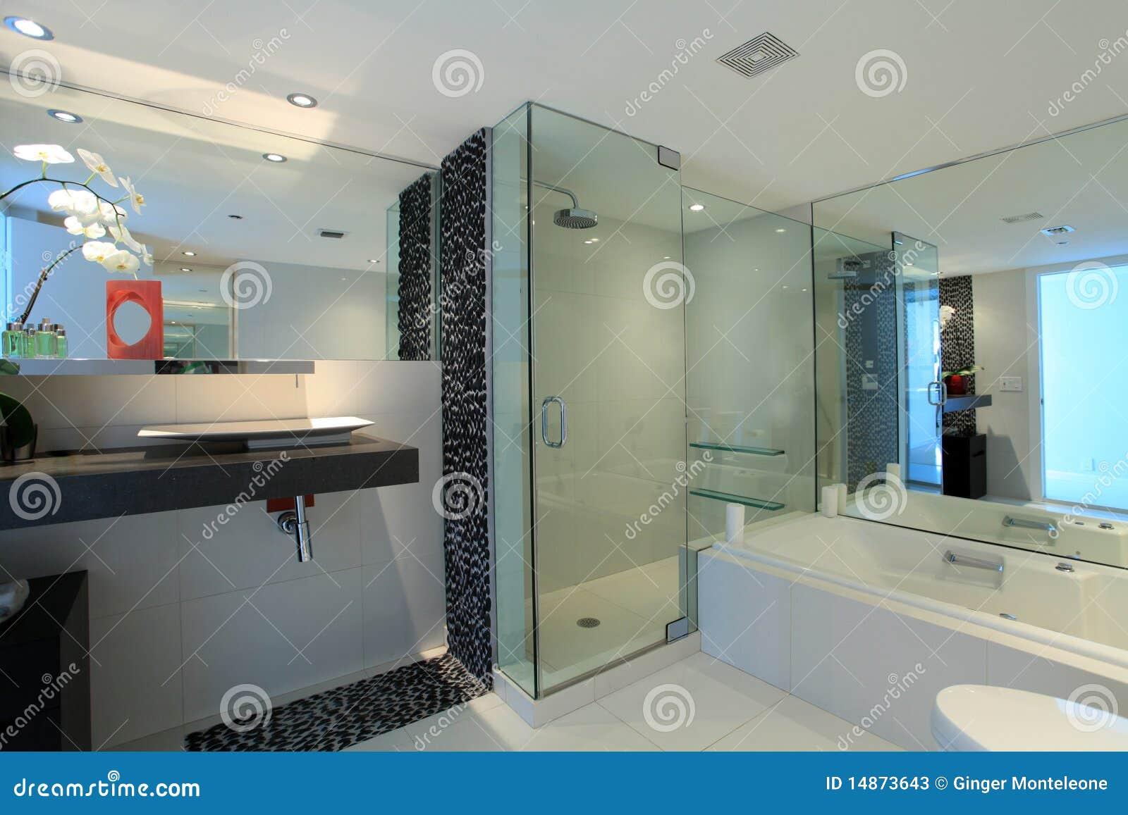 Particolari moderni della stanza da bagno fotografie stock for Grande disposizione della stanza