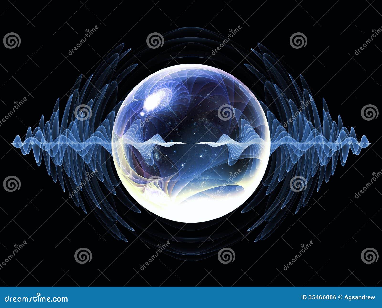 Particule virtuelle de vague
