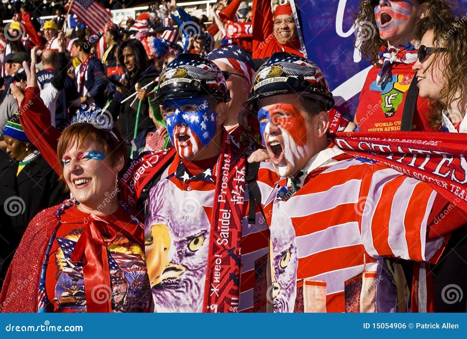 Partidarios del fútbol de los E.E.U.U. - WC 2010 de la FIFA