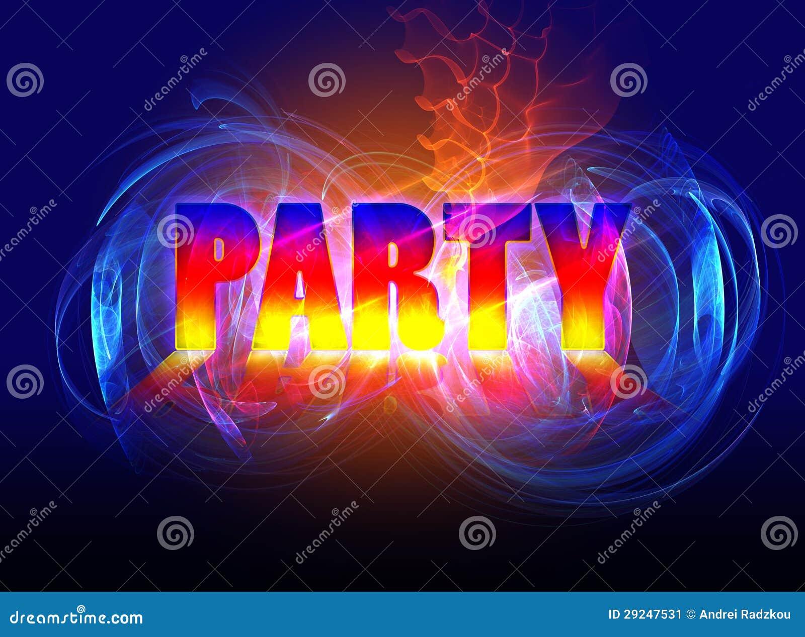 Download Partido ilustração stock. Ilustração de primeiramente - 29247531