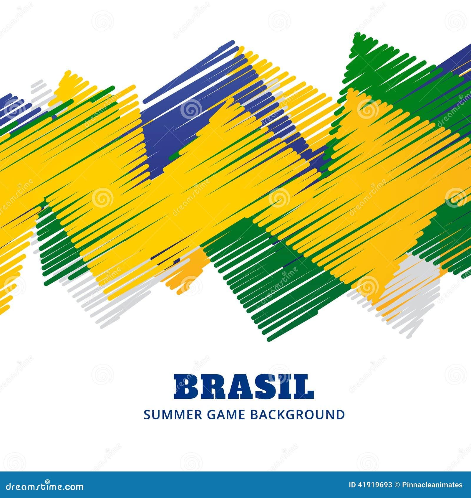 Partido de fútbol del Brasil