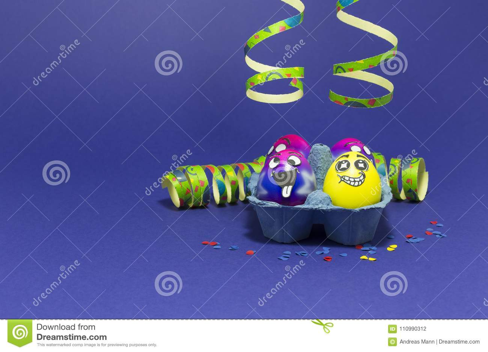Partido de Pascua con los huevos locos