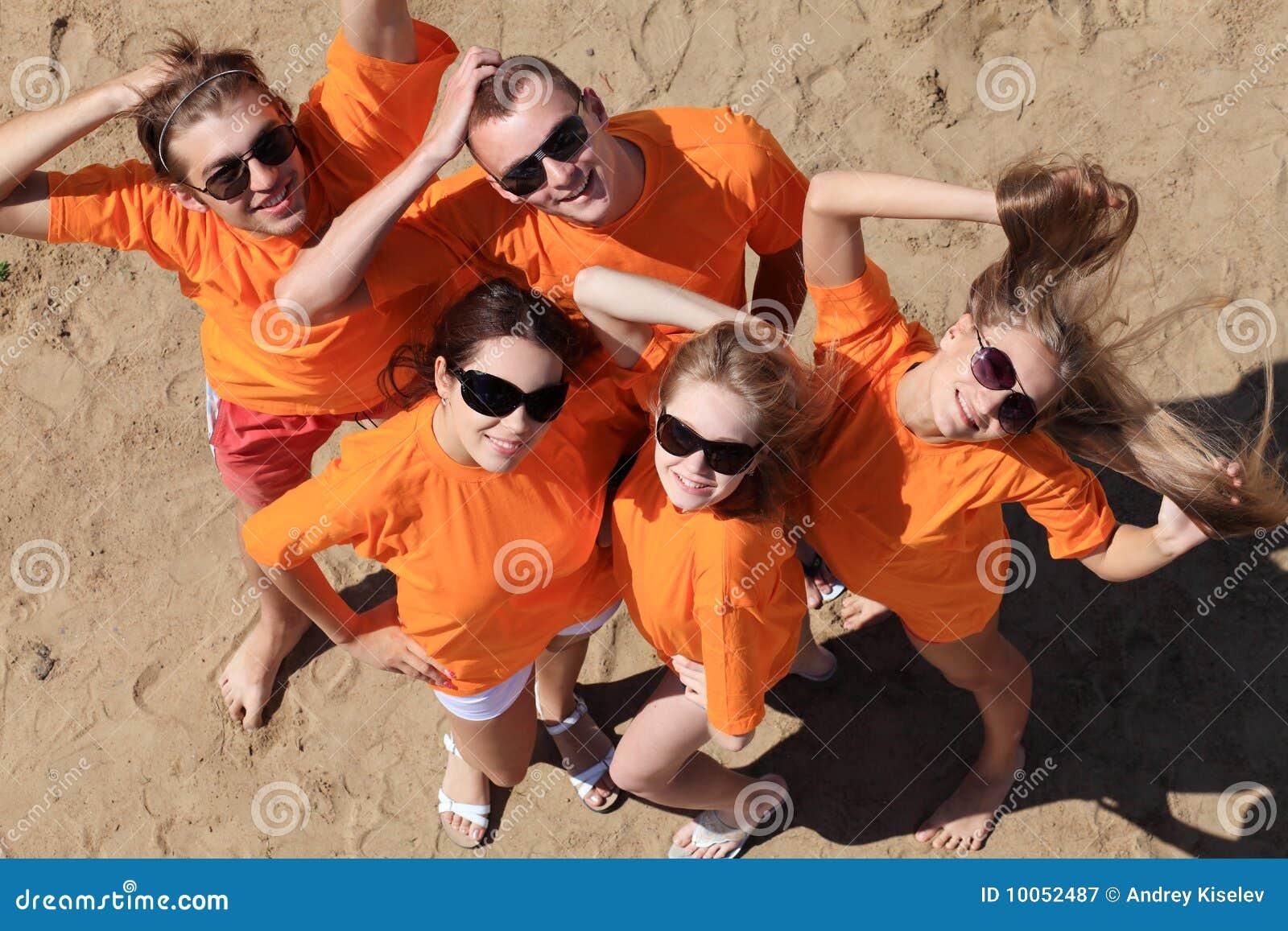 Partido em uma praia