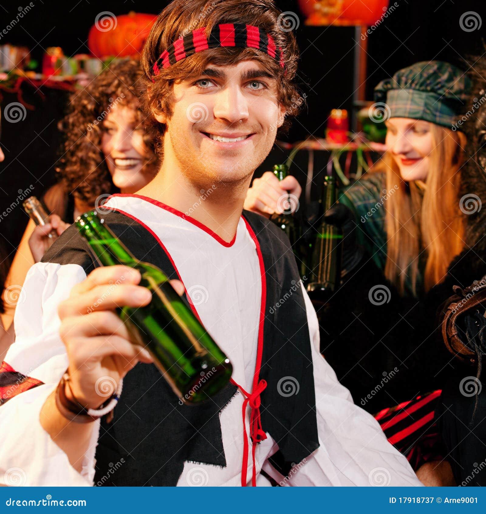 Partido para o carnaval ou o Halloween