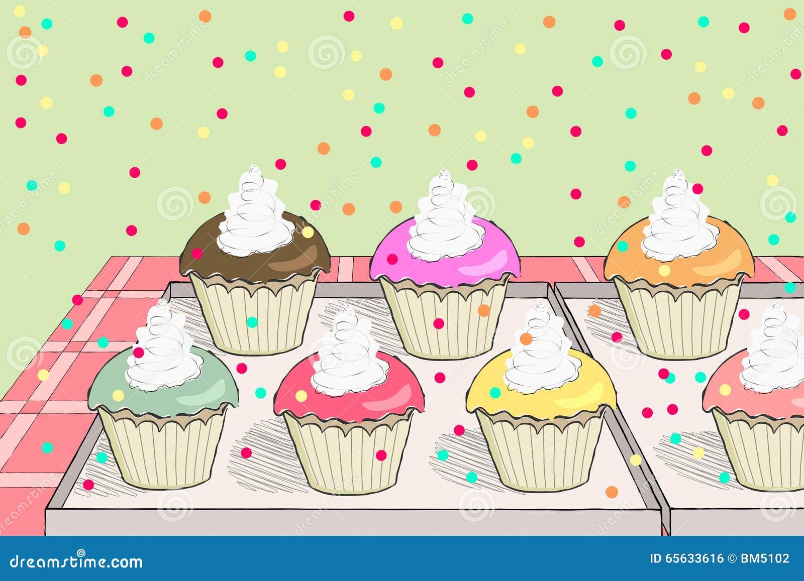 Partie de petits gâteaux