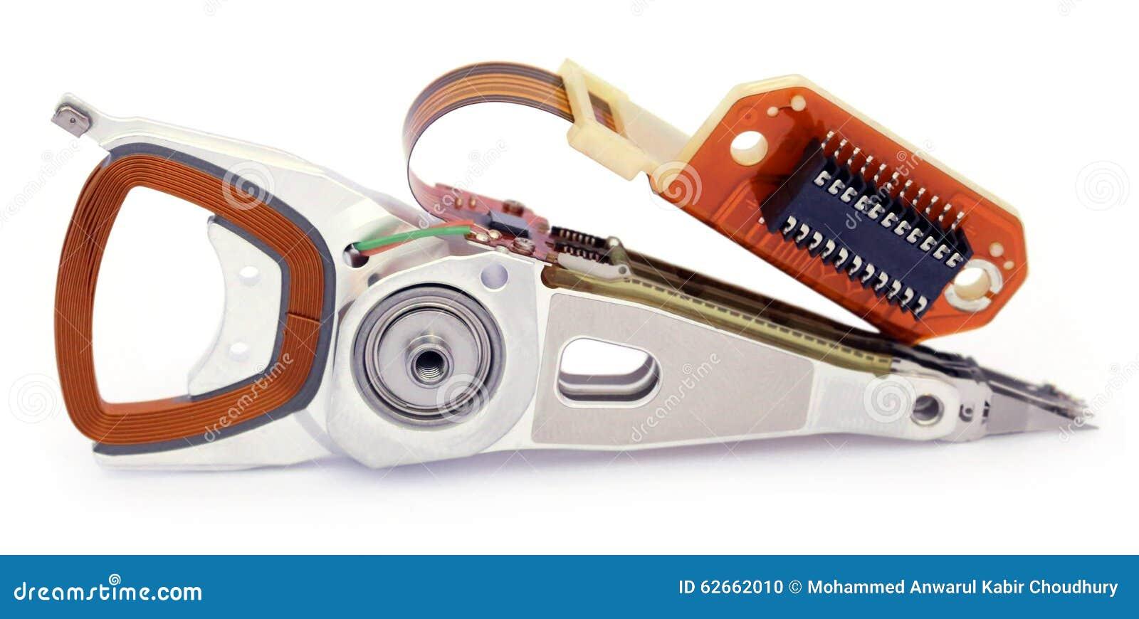 Parties d un disque dur