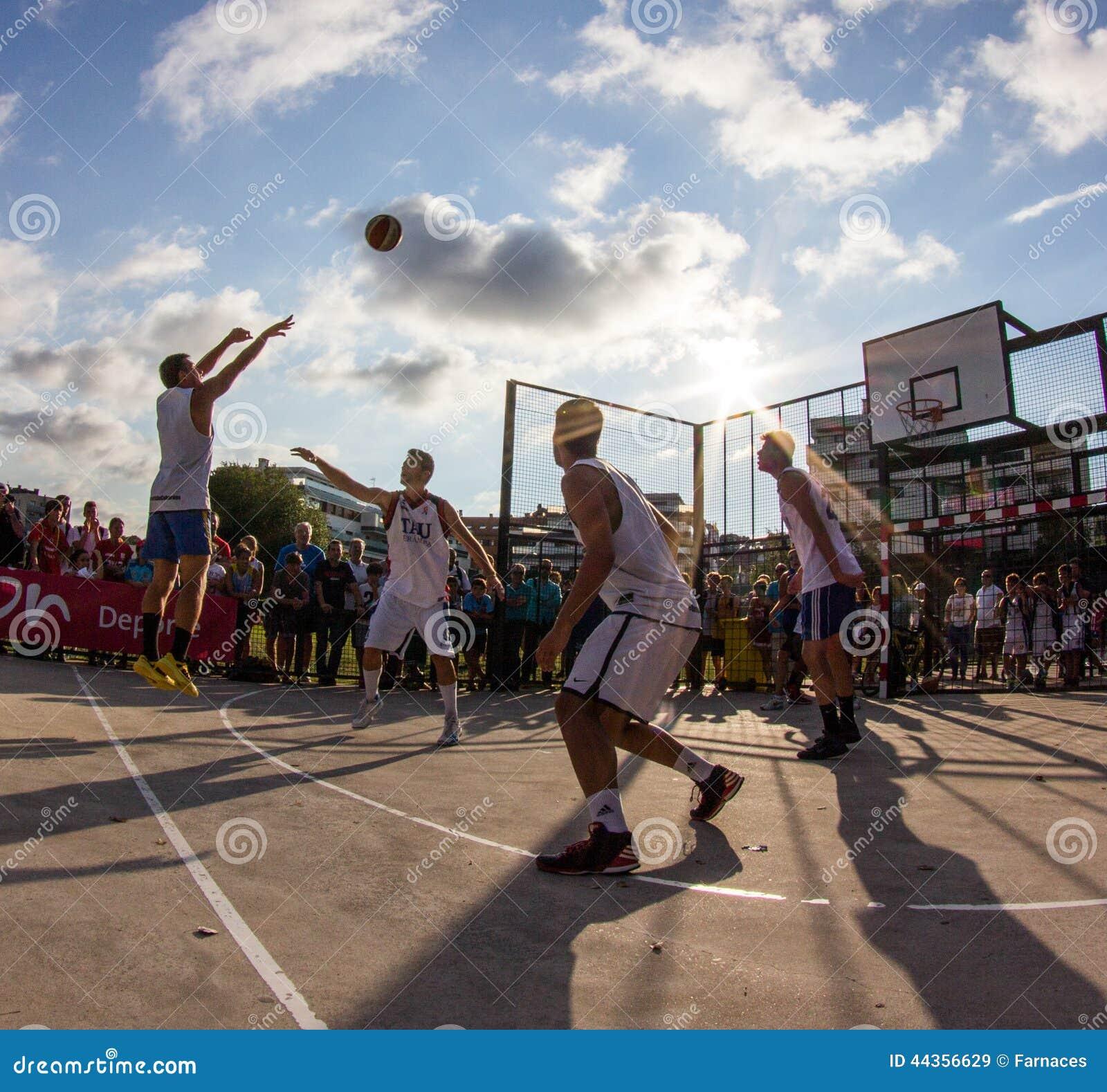 Partita di pallacanestro 3x3