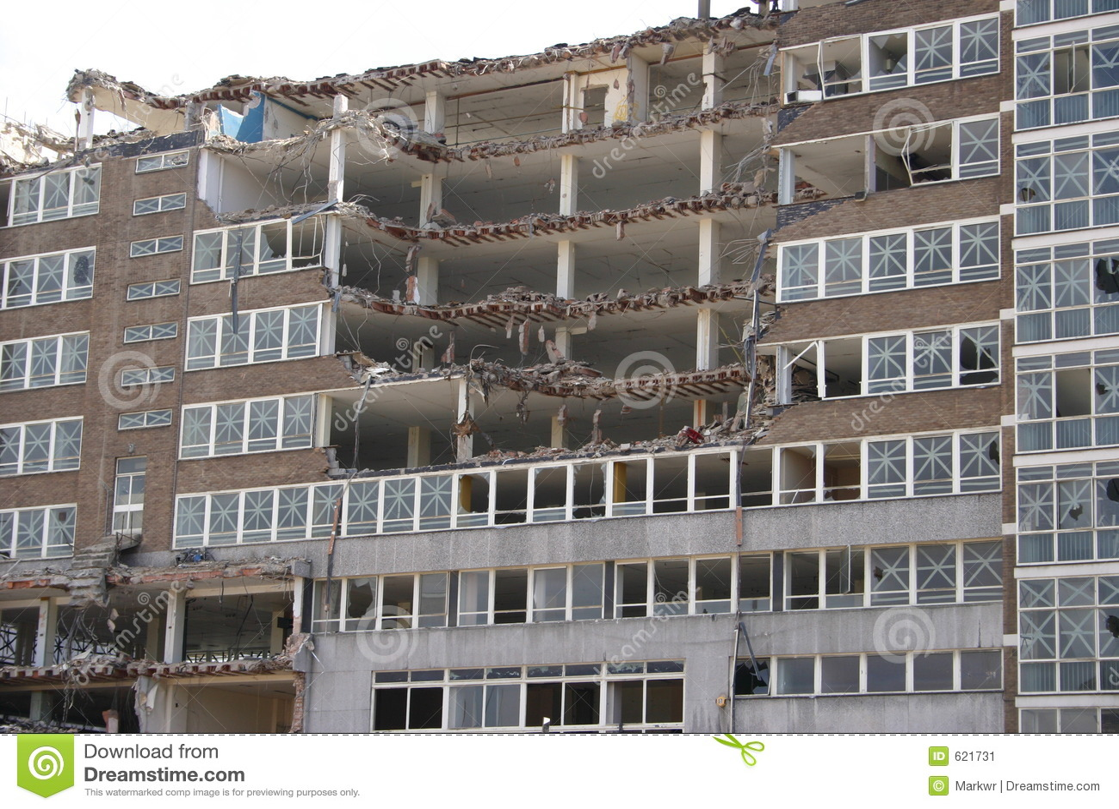 I  Office Buildings Demolished