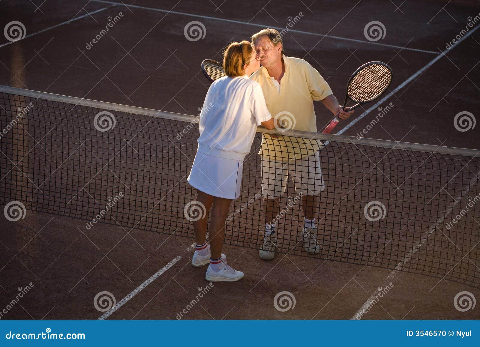 Partners hög tennis